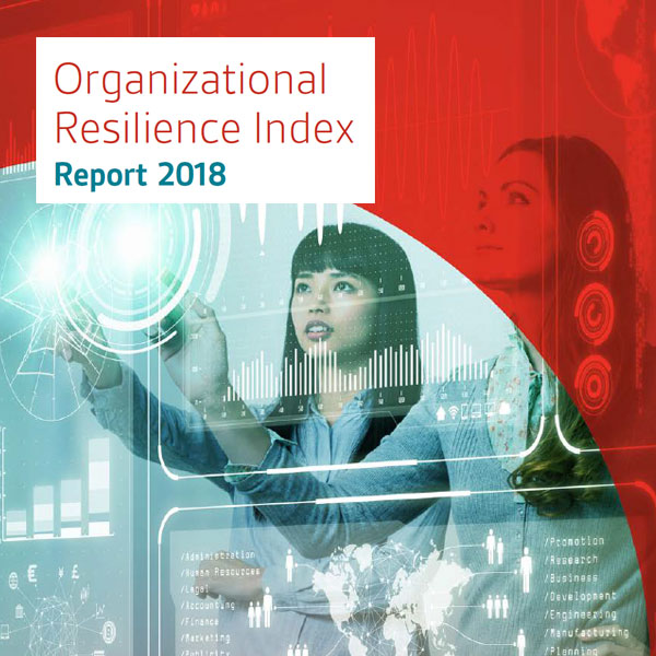 Organizational resilience index 2018